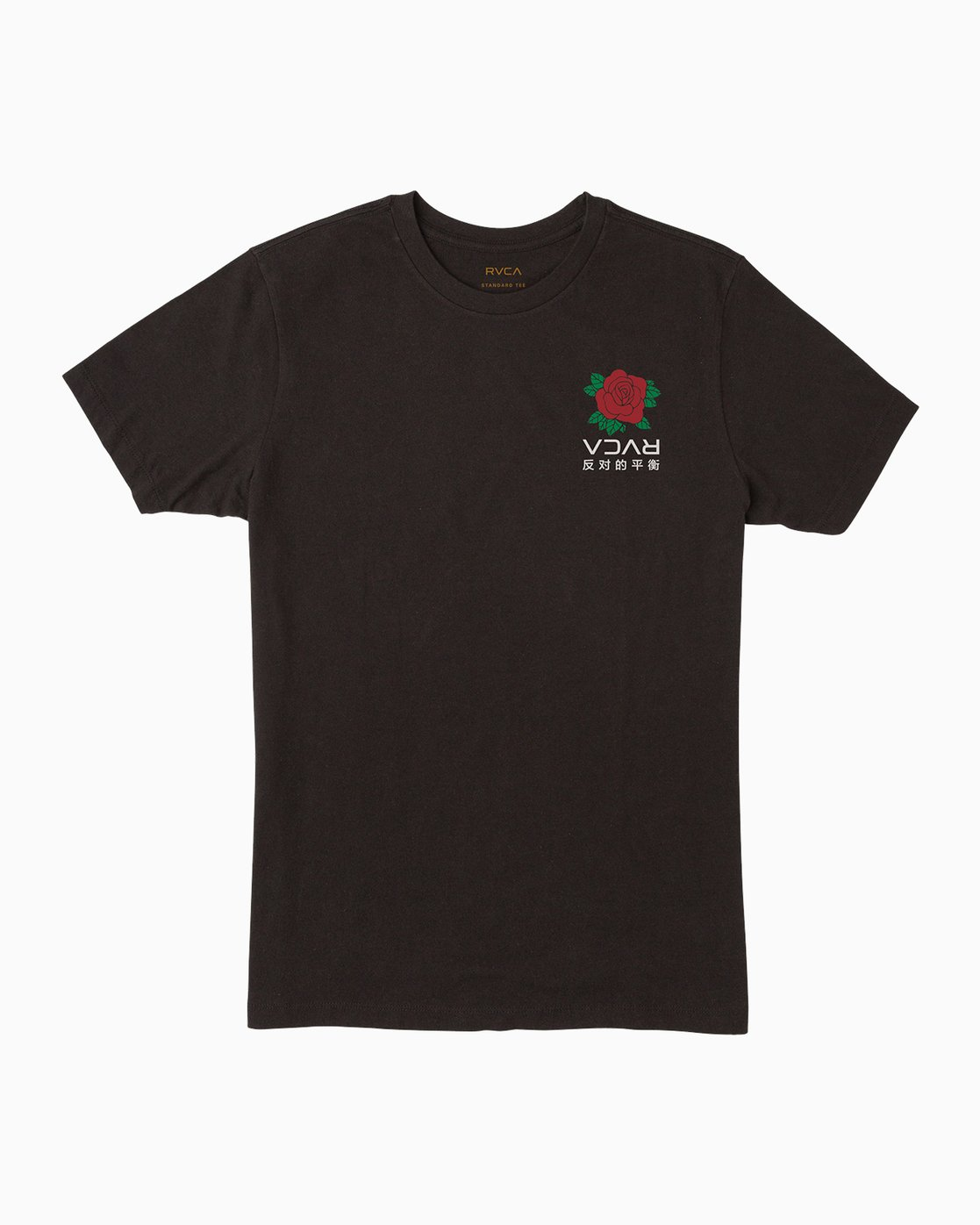 1 Roze T-Shirt Black M401PRRT RVCA
