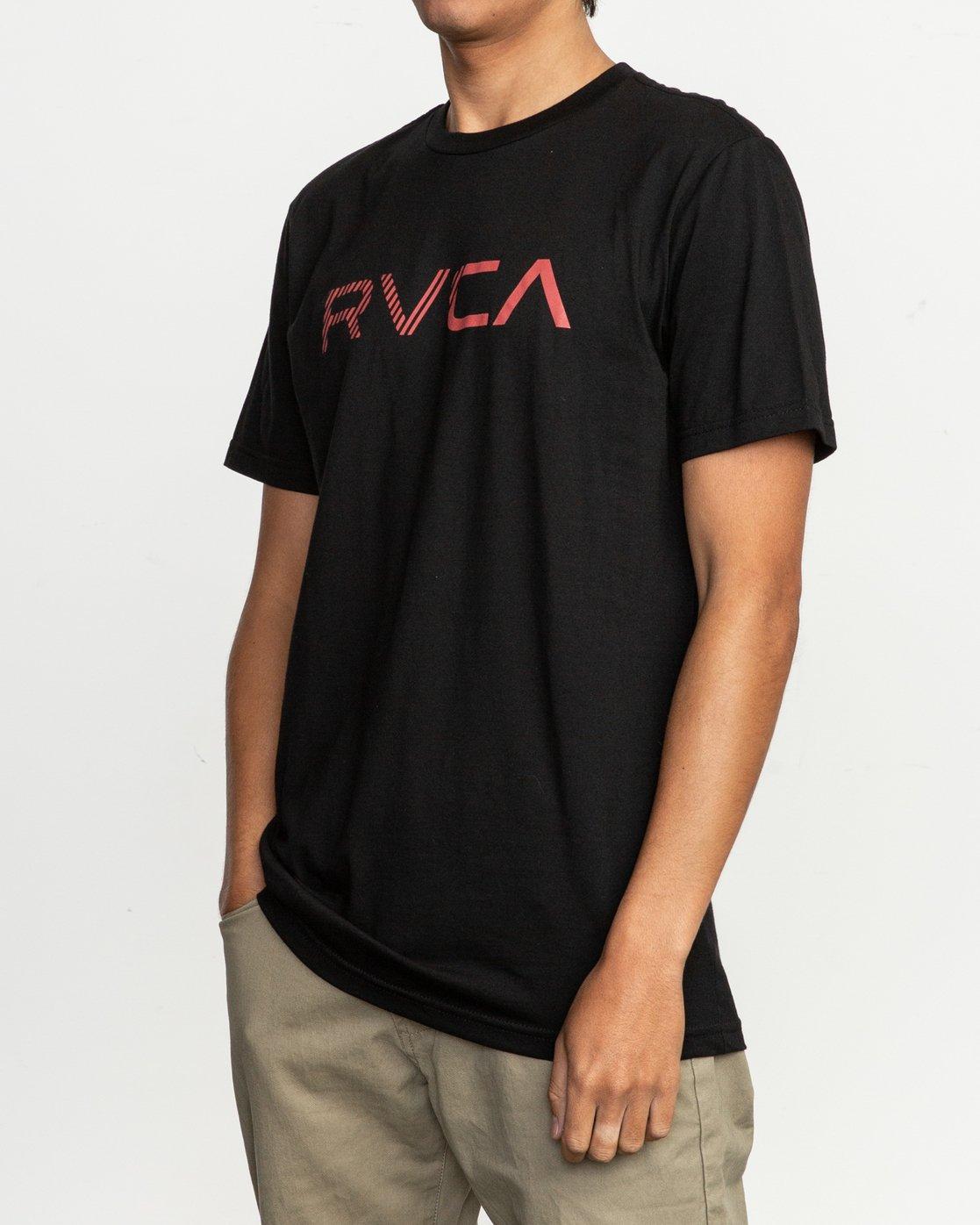 2 Blinded T-Shirt Black M401TRBL RVCA