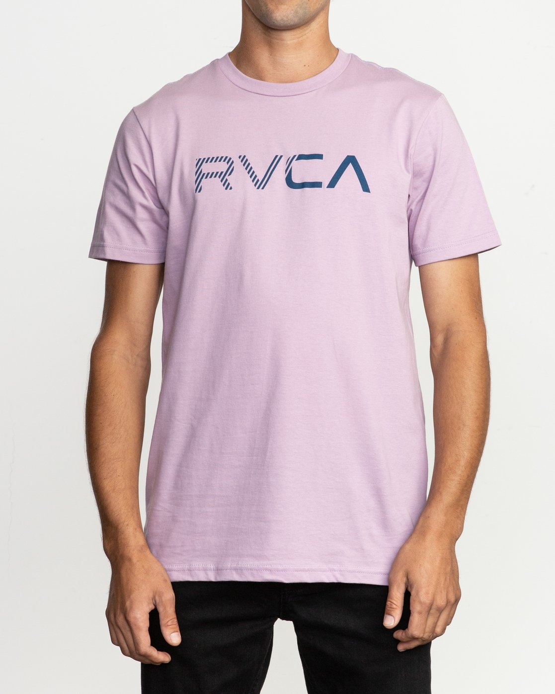 1 Blinded T-Shirt Purple M401TRBL RVCA