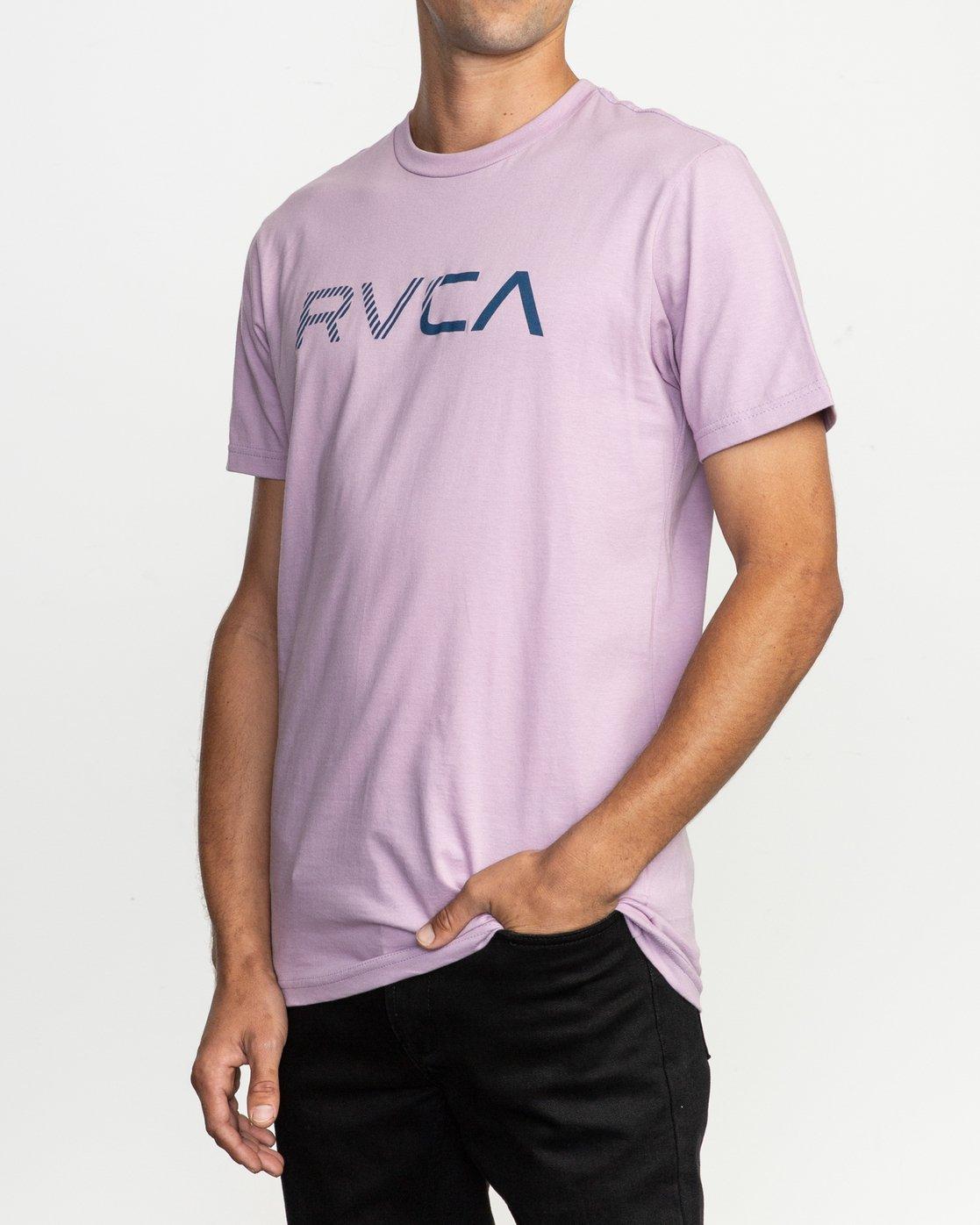 2 Blinded T-Shirt Purple M401TRBL RVCA