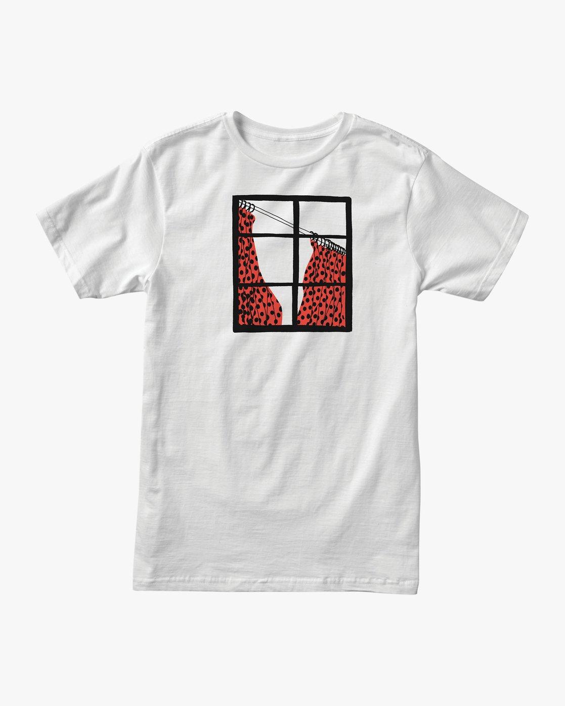 0 Tom Gerrard Drapery T-Shirt White M401TRDR RVCA