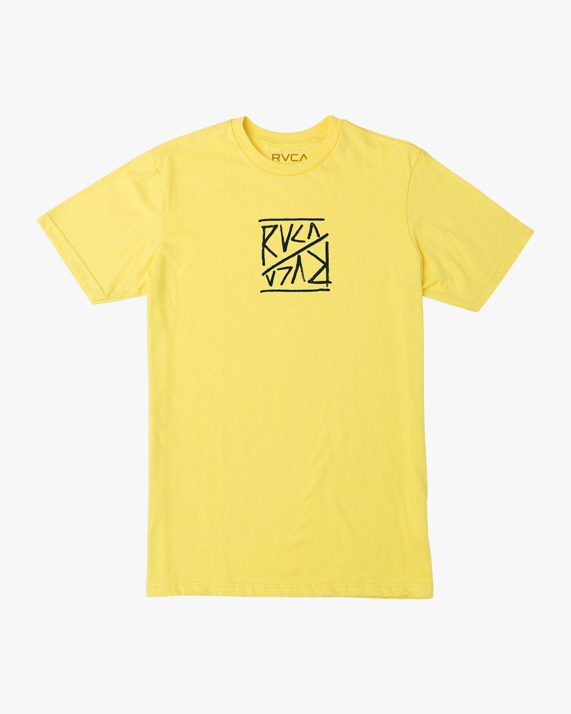 1 Flipper T-Shirt Yellow M401TRFL RVCA