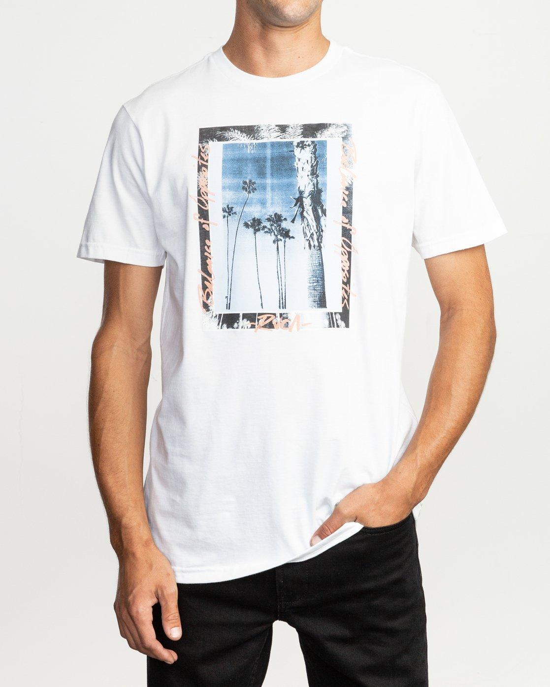 1 Last Paradise T-Shirt White M401TRLA RVCA