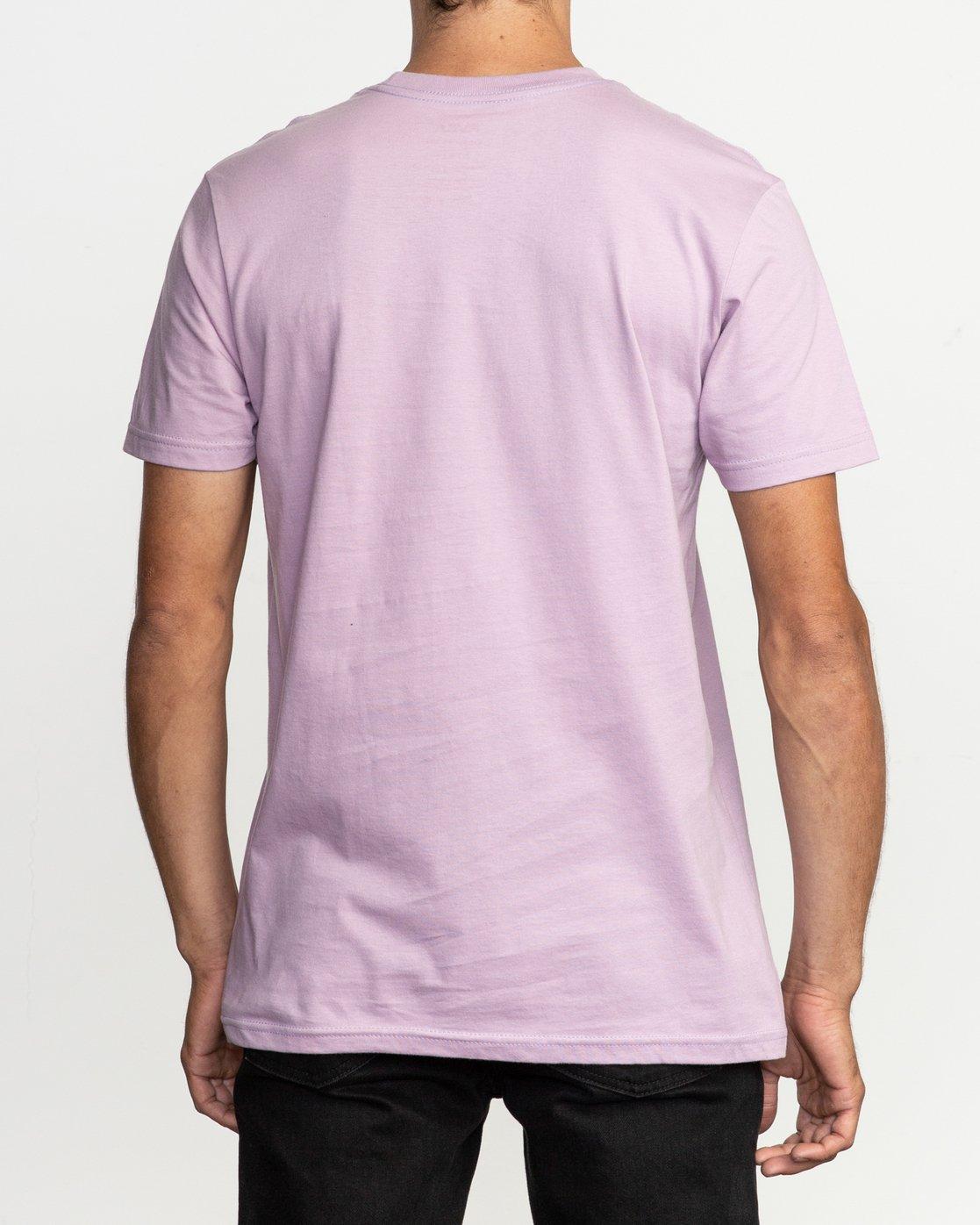 3 Motors Fill T-Shirt Purple M401TRMO RVCA