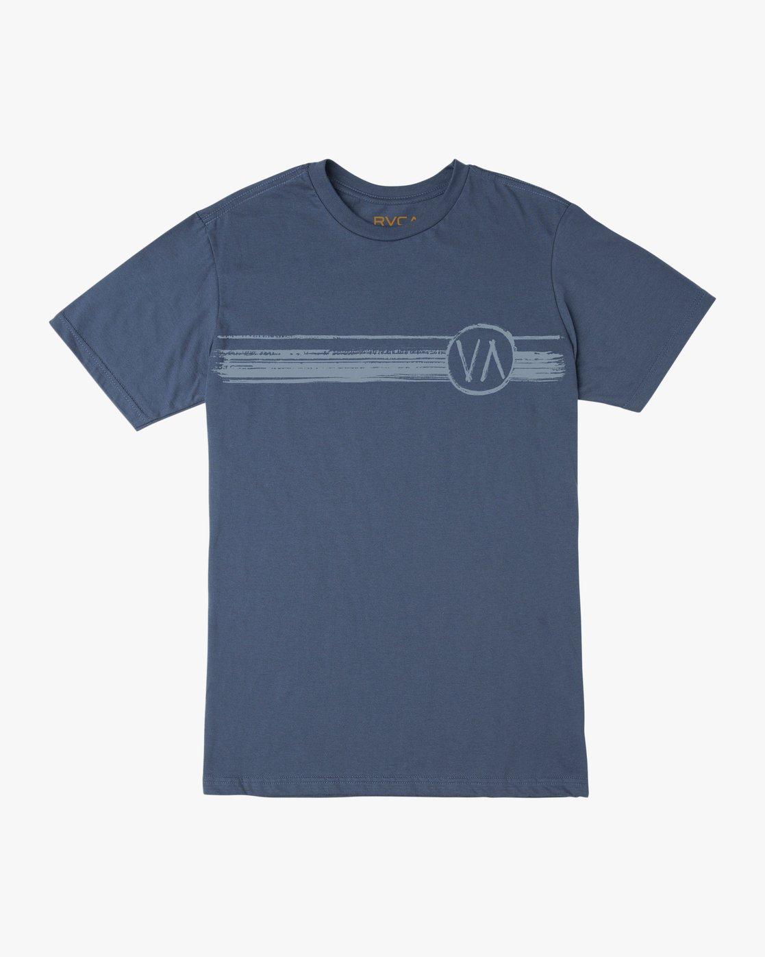 0 Ben Horton Off Track T-Shirt Blue M401TROF RVCA