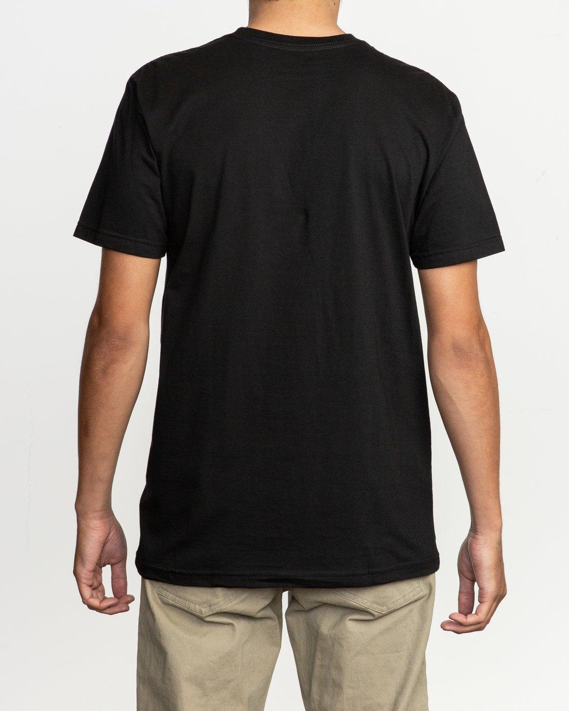 3 Ben Horton Off Track T-Shirt Black M401TROF RVCA
