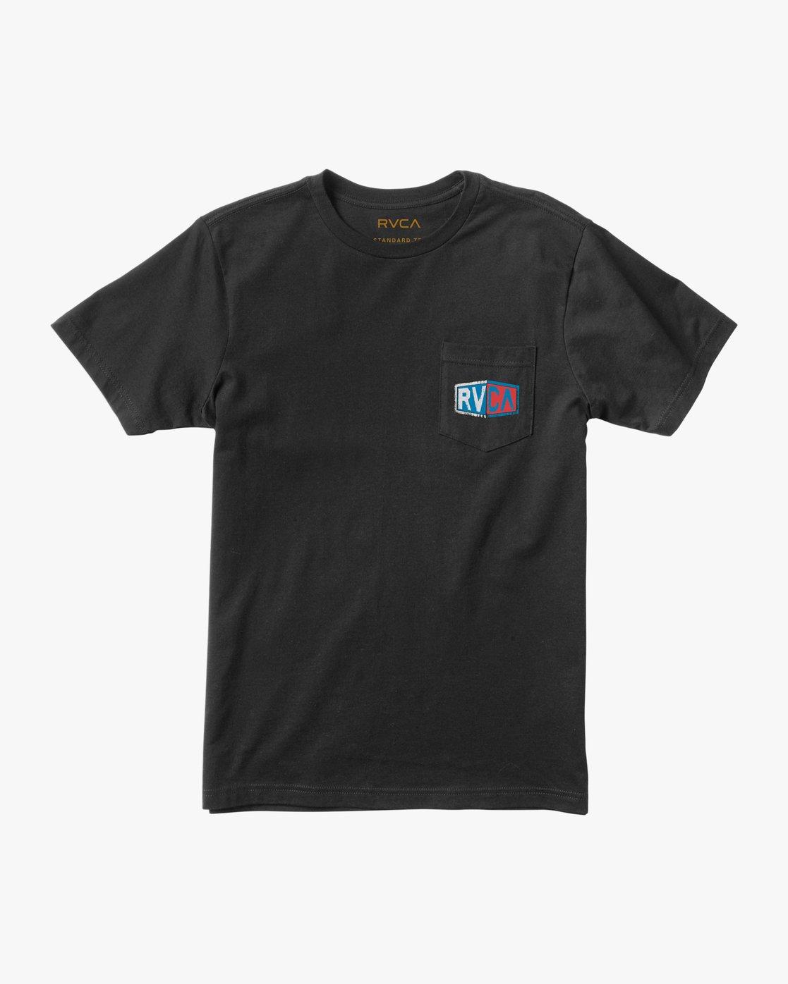 1 Carborator T-Shirt Black M412TRCA RVCA