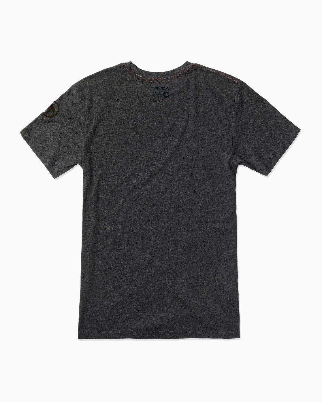 1 Ben Horton Grizzly T-Shirt Black M420500G RVCA
