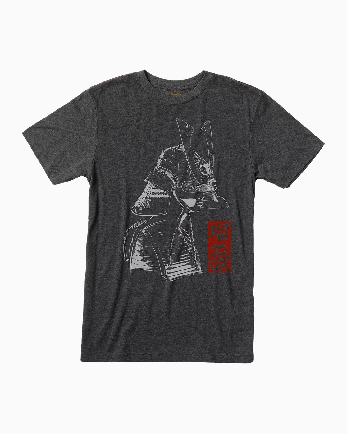 0 George Thompson Samurai T-Shirt Black M420QRSE RVCA