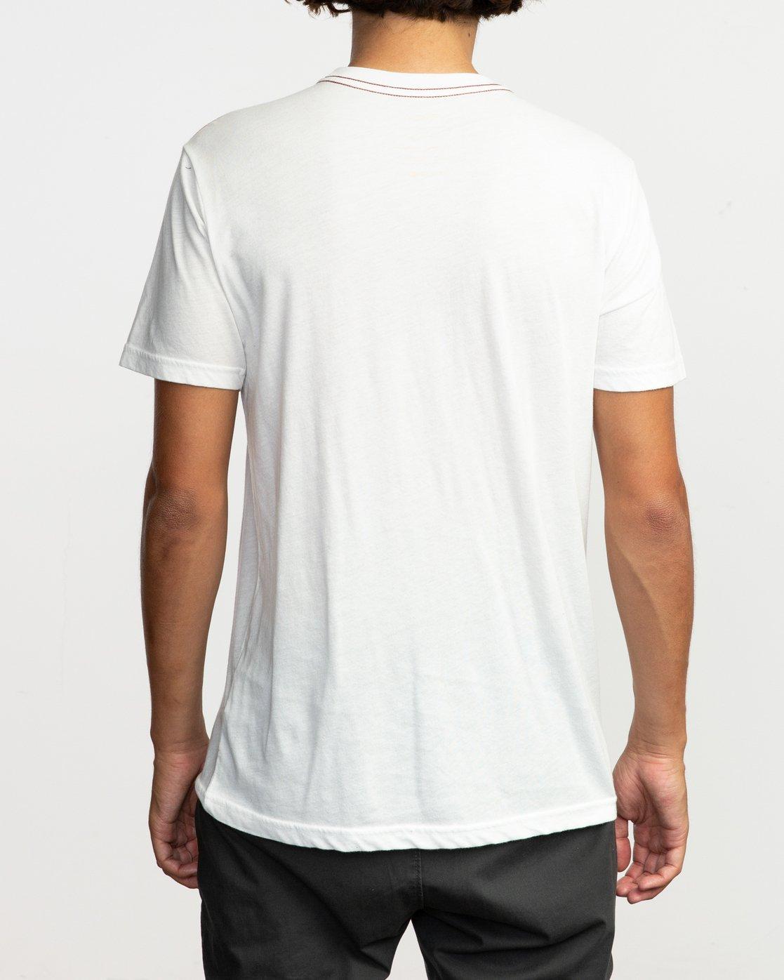 3 Da Aina Sphere T-Shirt White M420TRDS RVCA