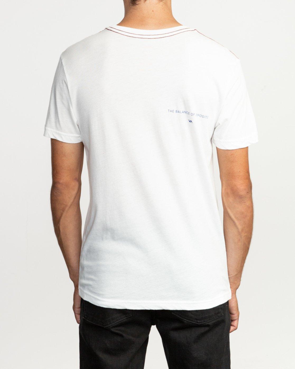 4 Eclipsed T-Shirt White M420TREC RVCA