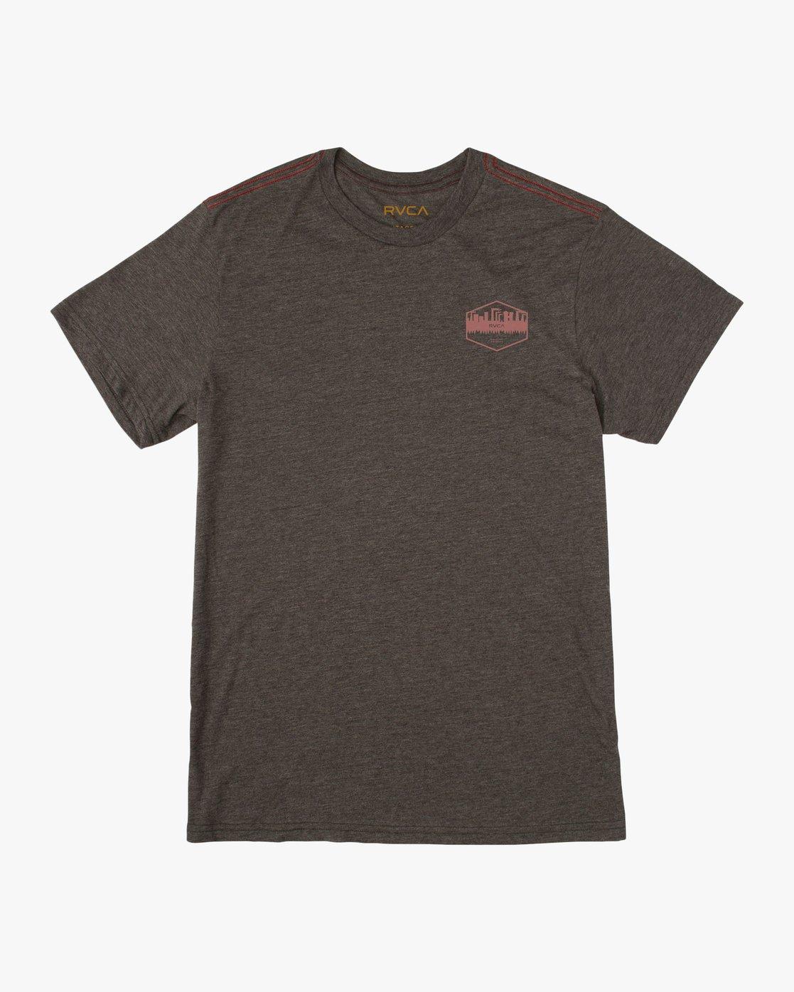 1 Industry T-Shirt Black M420TRIN RVCA