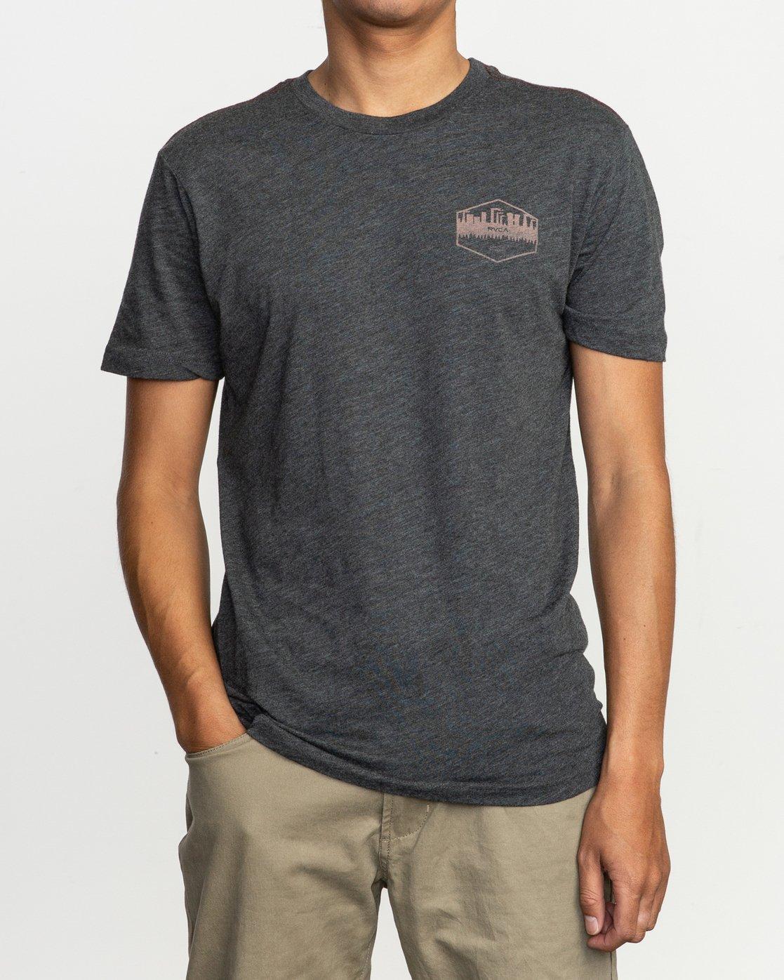2 Industry T-Shirt Black M420TRIN RVCA