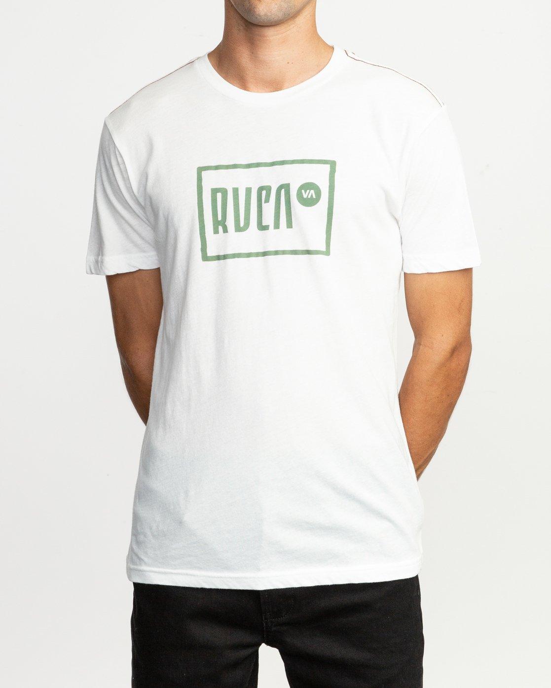 2 Lo-Fi T-Shirt White M420TRLO RVCA