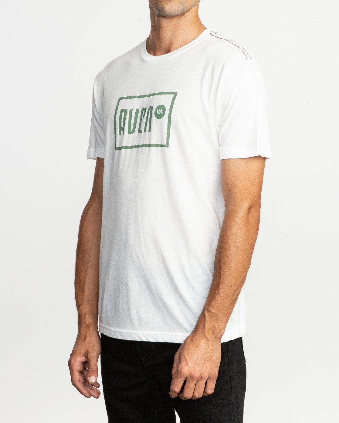 3 Lo-Fi T-Shirt White M420TRLO RVCA