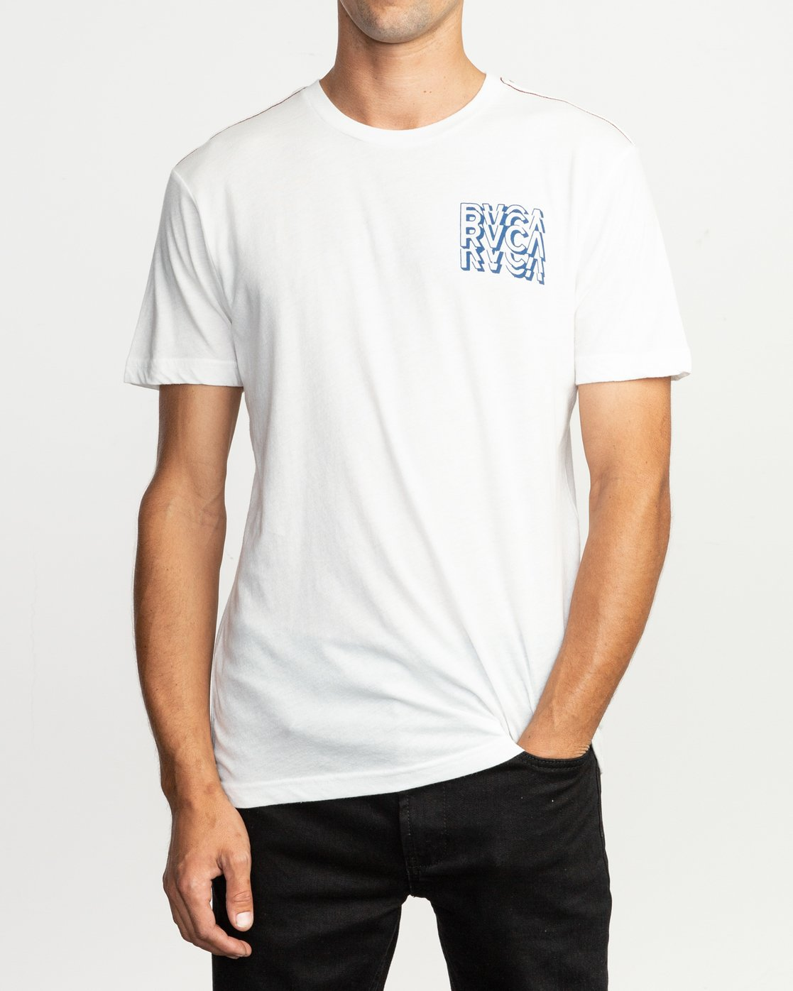 2 Ripper T-Shirt White M420TRRI RVCA
