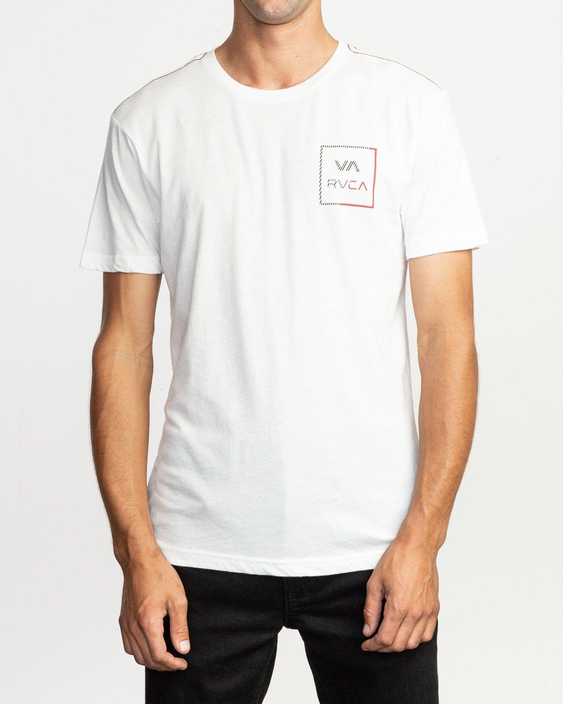 2 Segment T-Shirt White M420TRSE RVCA