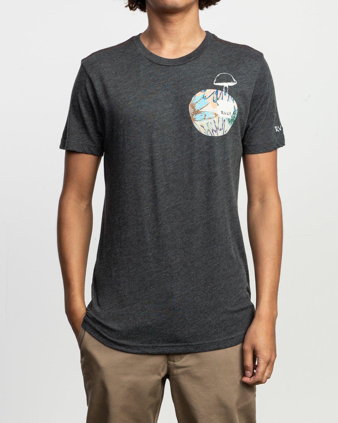 2 Sage Vaughn T-Shirt Black M420TRVA RVCA