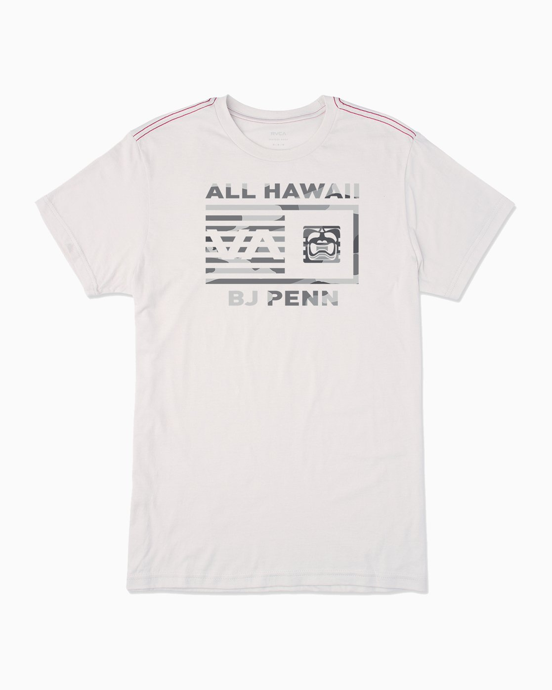 0 BJ Penn Box T-Shirt White M422SRPE RVCA
