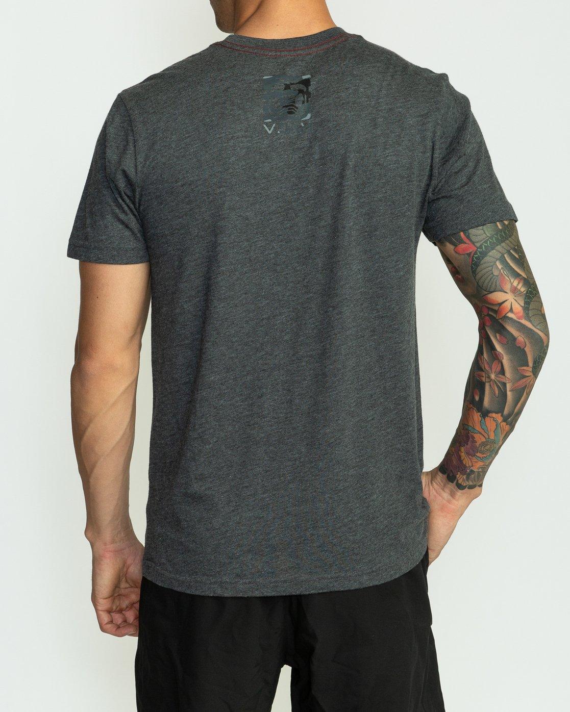 4 BJ Penn Box T-Shirt Black M422SRPE RVCA