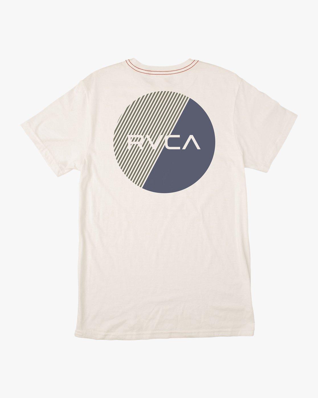 0 Blind Motors T-Shirt White M430TRBL RVCA