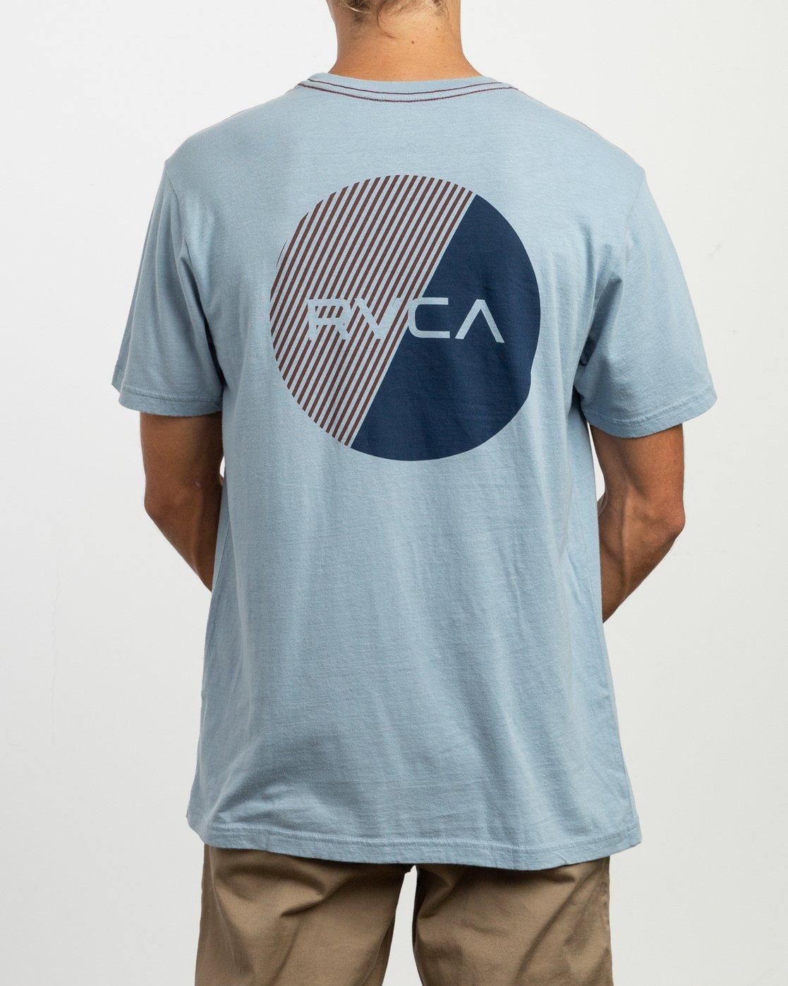 4 Blind Motors T-Shirt Blue M430TRBL RVCA