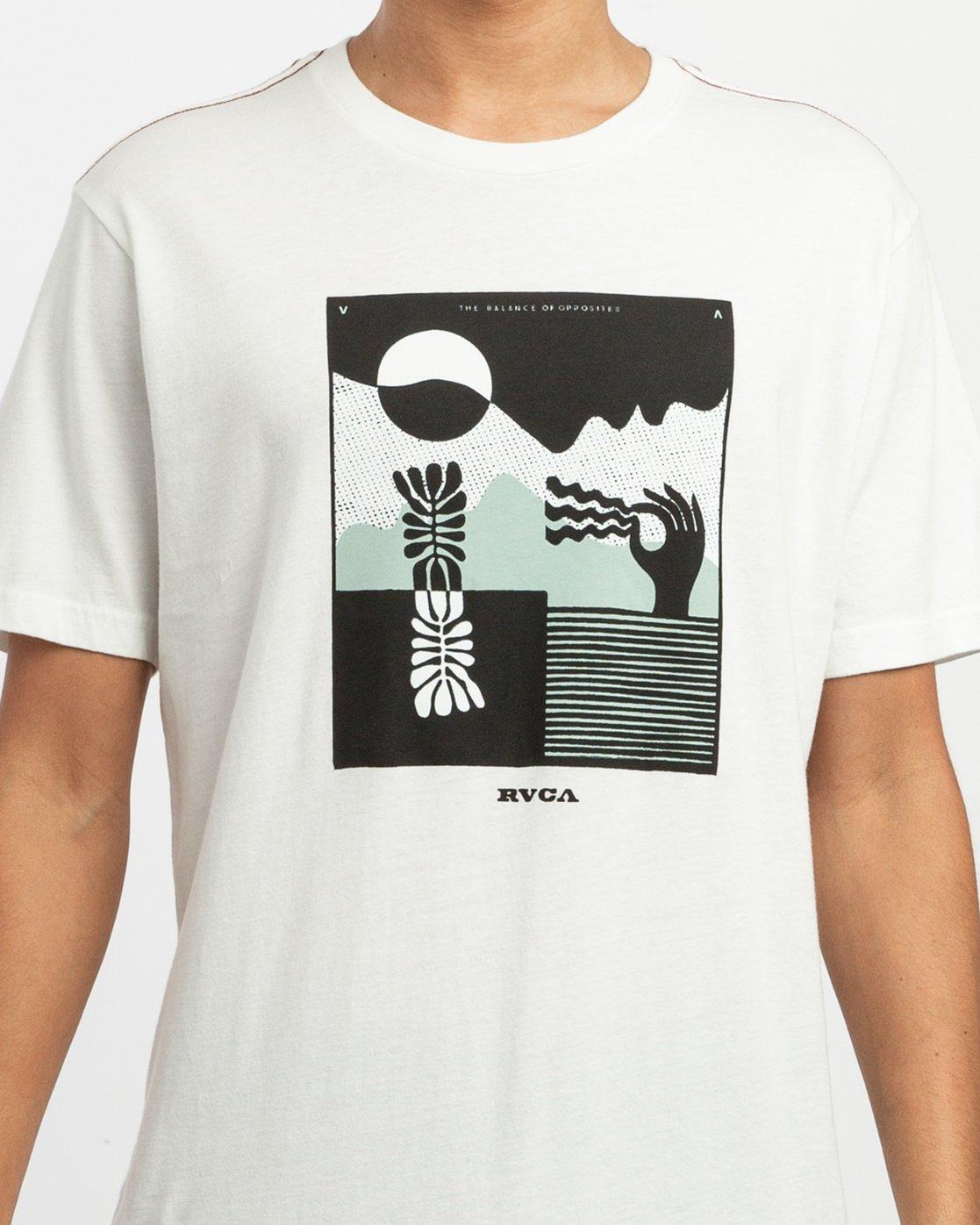 5 Zurich T-Shirt White M430TRZU RVCA