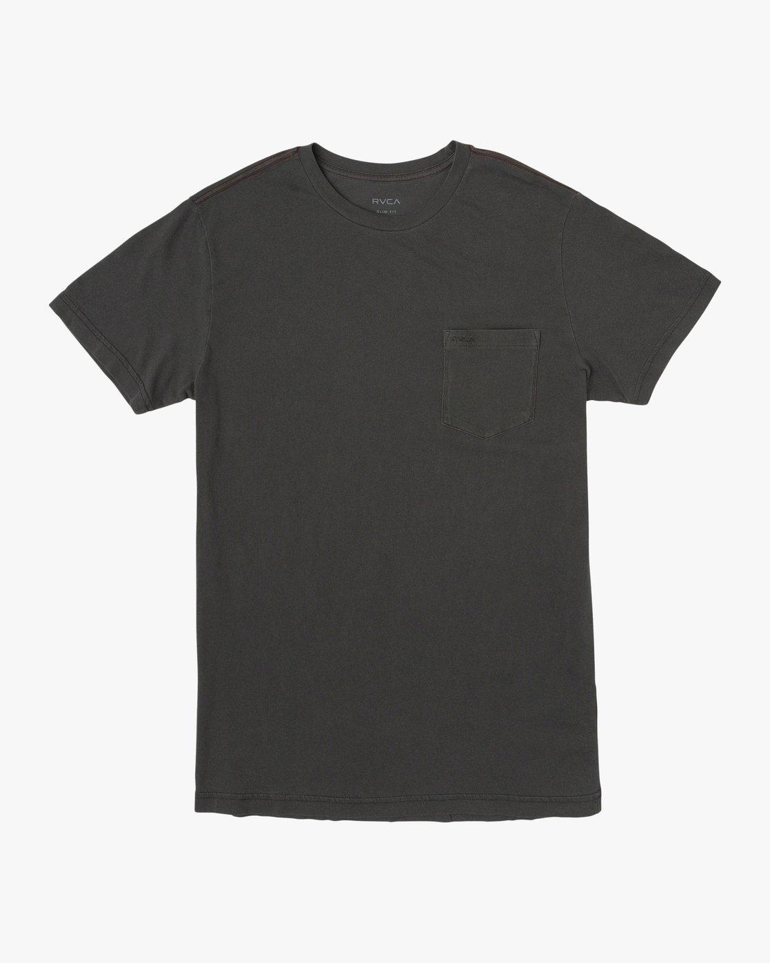 0 PTC 2 Pigment T-Shirt Black M437TRPT RVCA