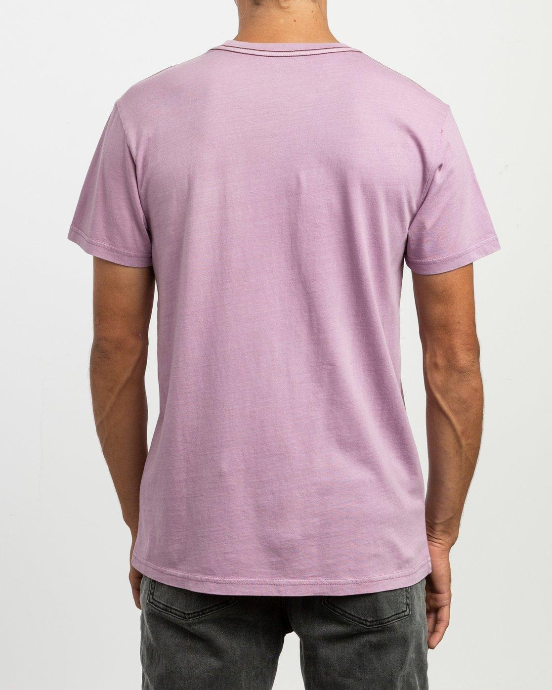 3 PTC 2 Pigment T-Shirt Purple M437TRPT RVCA