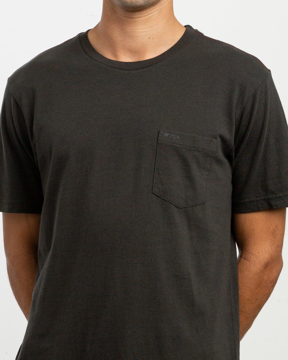 4 PTC 2 Pigment T-Shirt Black M437TRPT RVCA