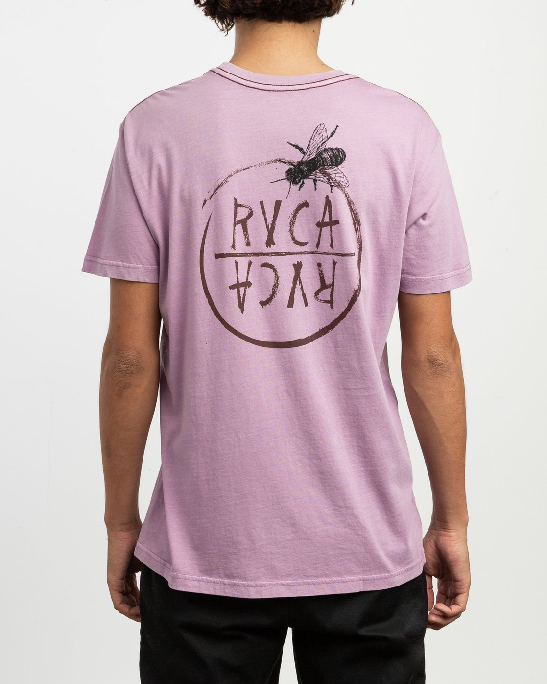 4 Ben Horton Hivemind T-Shirt Purple M438TRHI RVCA