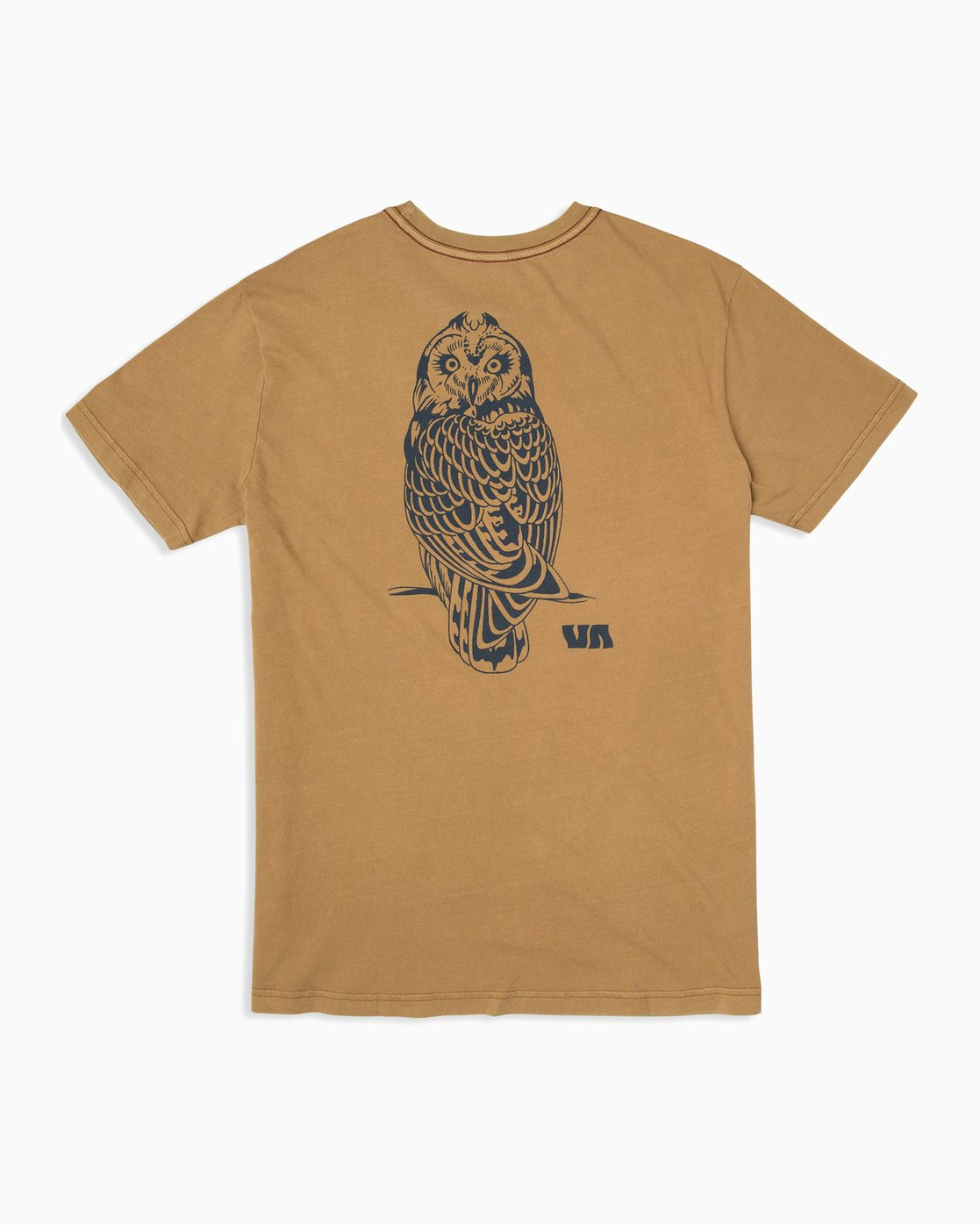 0 Alex Matus Pueo T-Shirt Brown M438TRPU RVCA