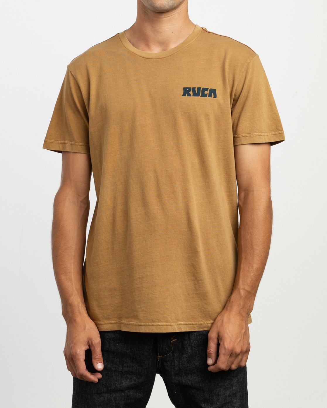 2 Alex Matus Pueo T-Shirt Brown M438TRPU RVCA