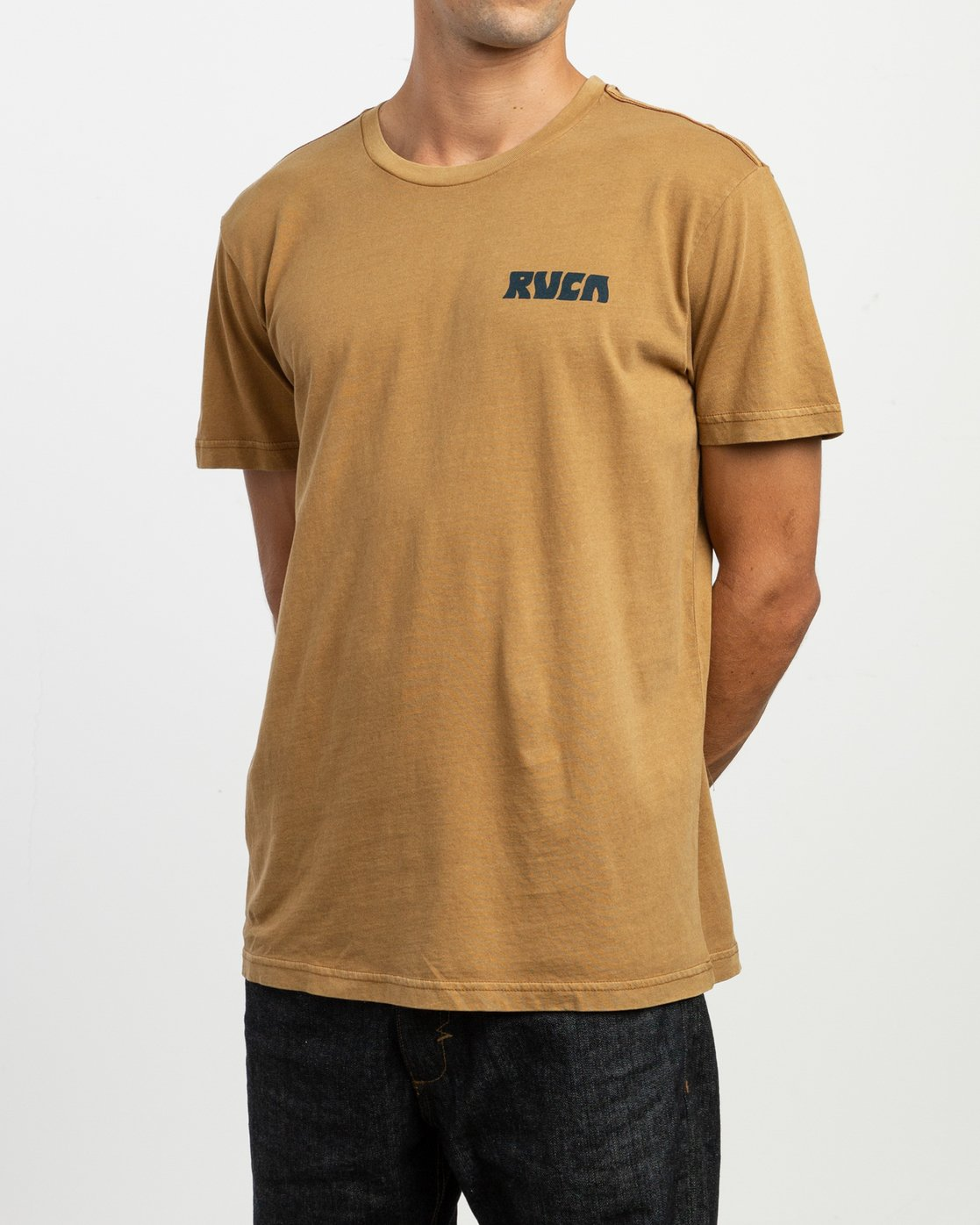3 Alex Matus Pueo T-Shirt Brown M438TRPU RVCA
