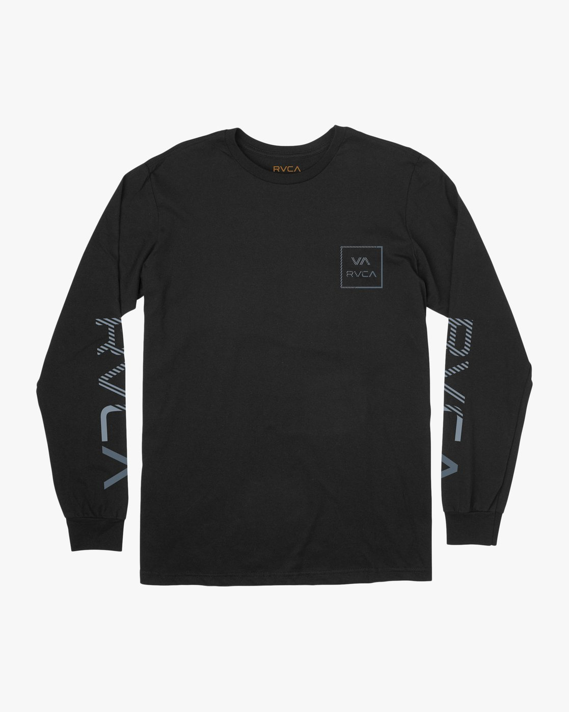 0 Segment Long Sleeve T-Shirt Black M451TRSE RVCA