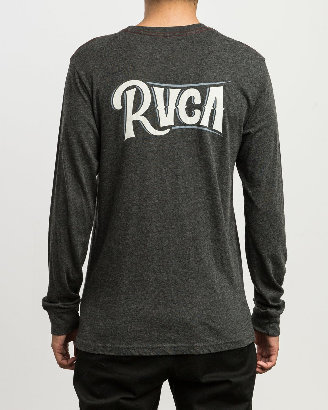 4 Sagebrush Long Sleeve T-Shirt Black M452SRSA RVCA