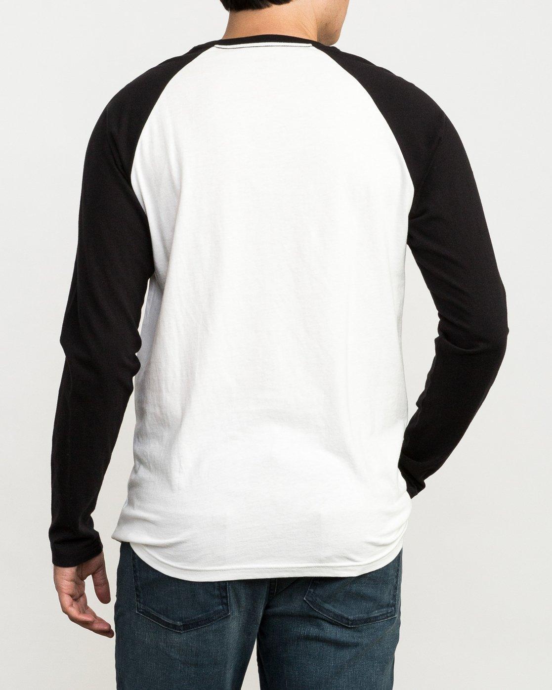 4 Looped T-Shirt Black M454QRLO RVCA