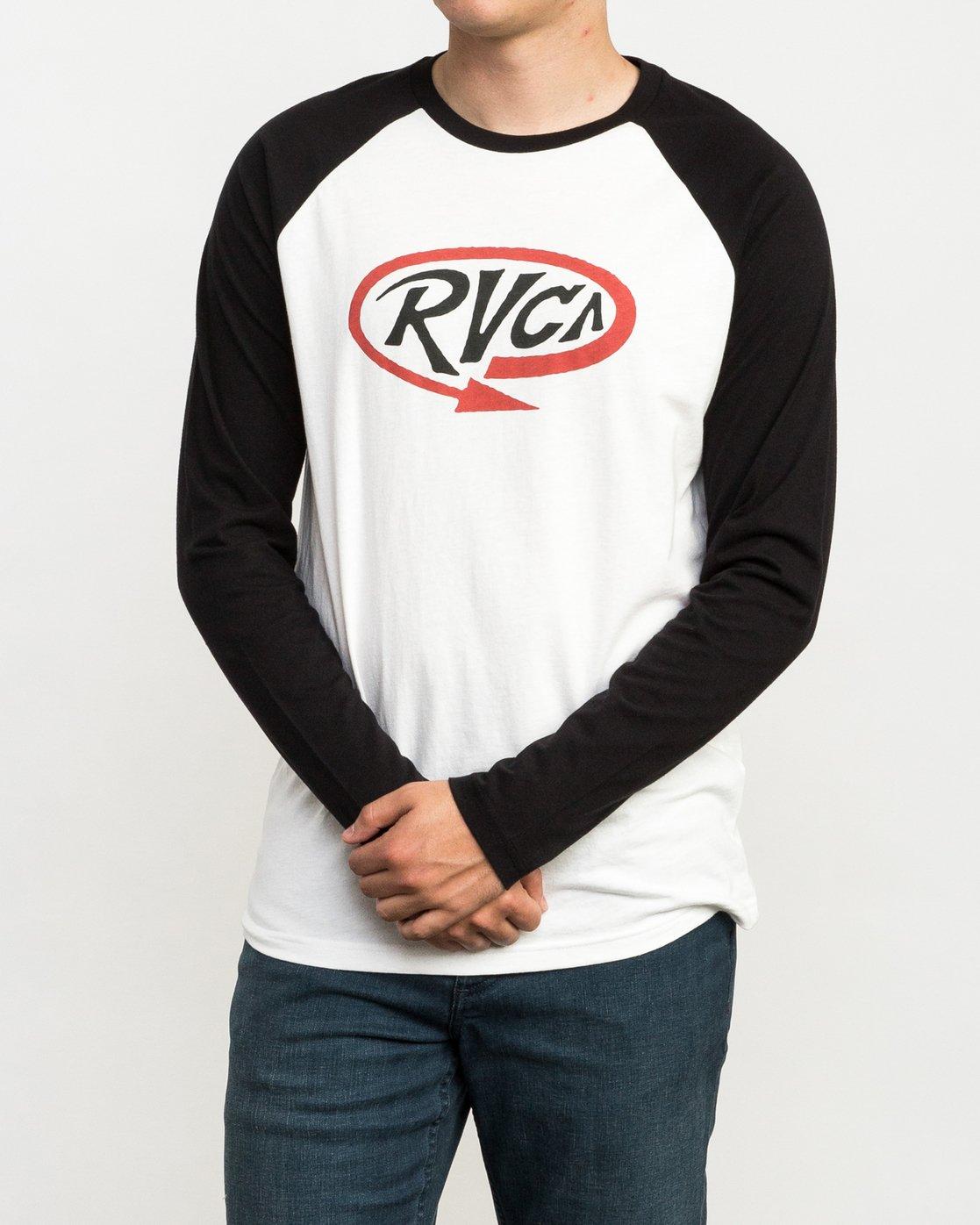 2 Looped T-Shirt Black M454QRLO RVCA