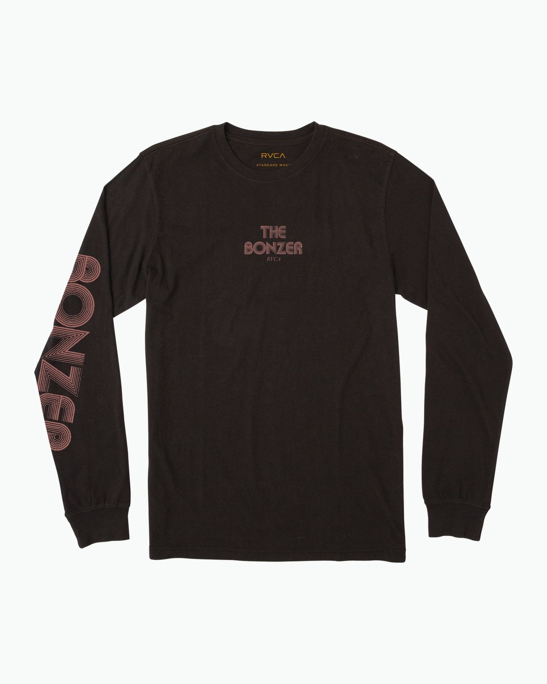 1 Campbell Venturi Long Sleeve T-Shirt Black M463SRVE RVCA