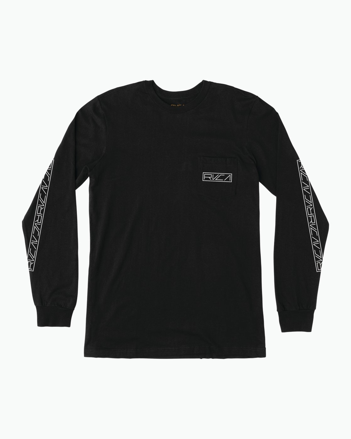 1 Reflector Long Sleeve T-Shirt Black M495SRRE RVCA