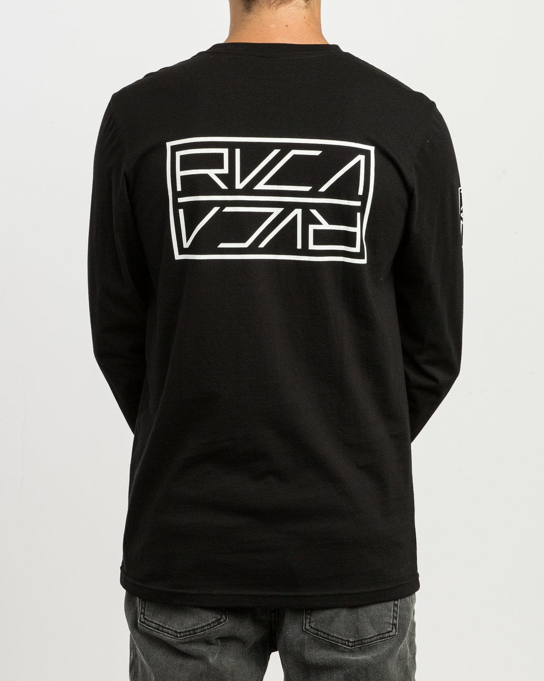 5 Reflector Long Sleeve T-Shirt Black M495SRRE RVCA