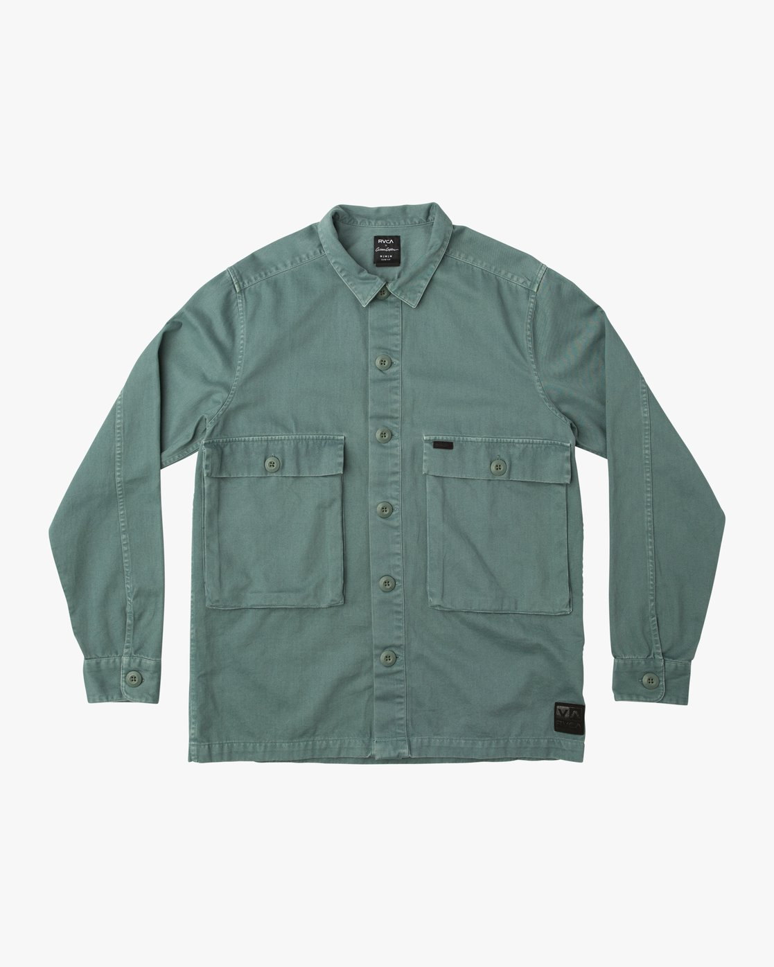 0 Curren Caples All Day Shirt Green M555QRAL RVCA
