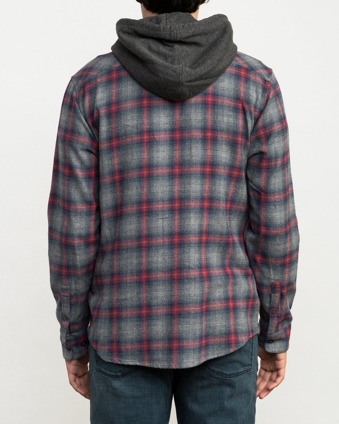 4 Christian Fletcher Good Hombre Flannel Grey M560QRGO RVCA