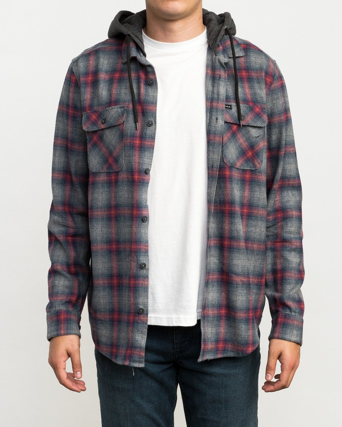2 Christian Fletcher Good Hombre Flannel Grey M560QRGO RVCA