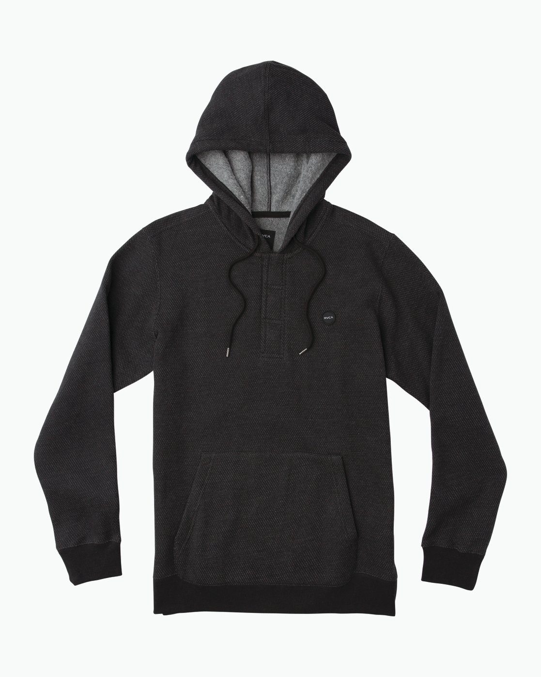 0 Lupo Fleece Hoodie Black M601QRLP RVCA