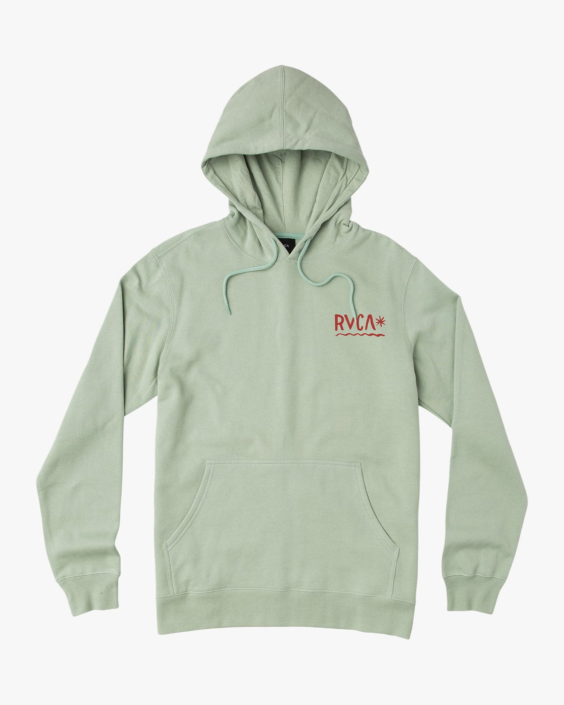 1 Squig Hoodie Green M602QRSP RVCA