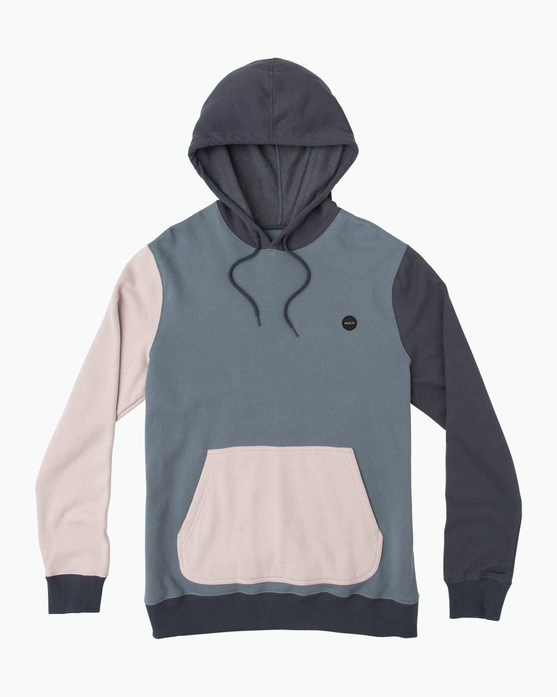 0 Ruddy Color Blocked Hoodie Blue M605QRRD RVCA