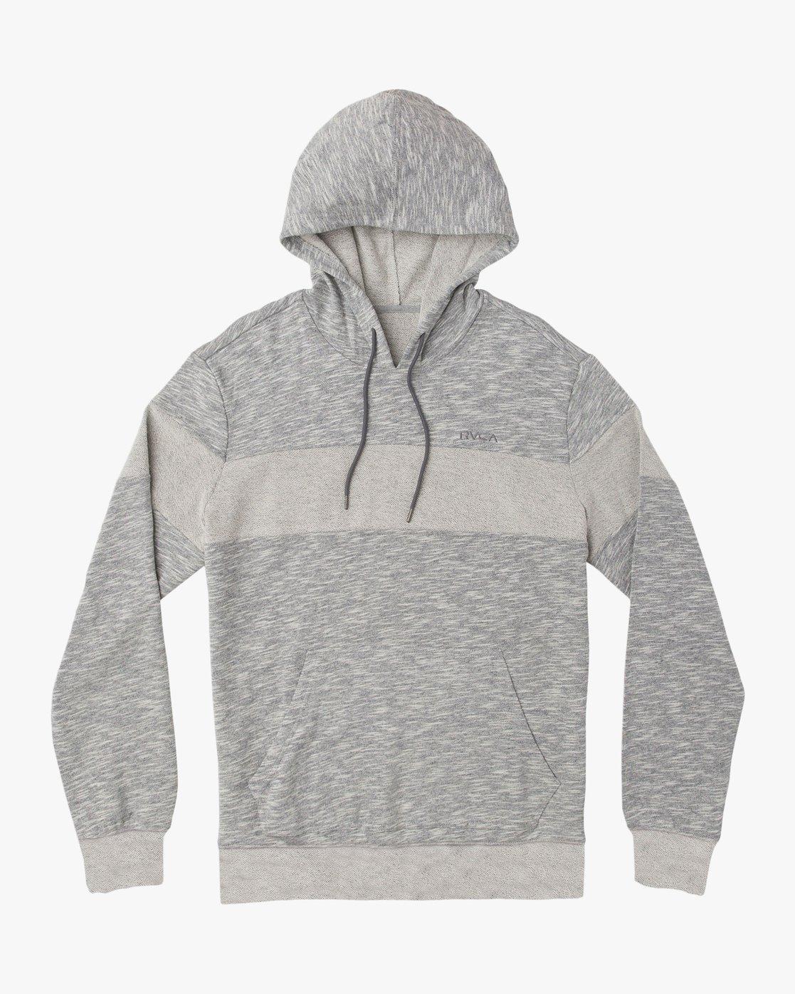 0 Ember Hoodie Grey M620TREM RVCA