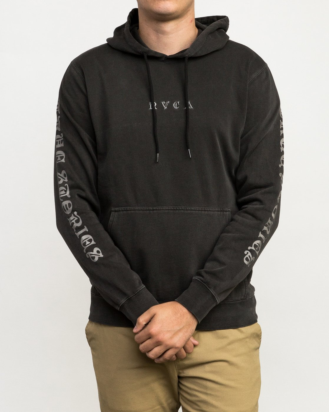 3 Elevation Hoodie Black M621QREL RVCA