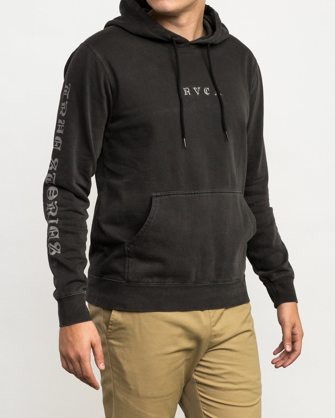 5 Elevation Hoodie Black M621QREL RVCA